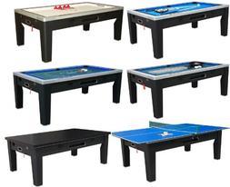 6 in 1 Multi Game Table Finish: Black