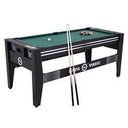 Triumph Sports 72-Inch 4-in-1 Rotating Combo Table