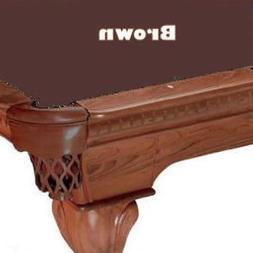 Proline 10' Brown Classic 303 Teflon Billiard / Pool Table F