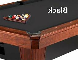 12' Simonis 860 Black Billiard Pool Table Cloth Felt