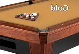 12' Simonis 860 Gold Billiard Pool Table Cloth Felt