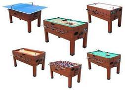 13 in 1 GAME TABLE in CHERRY ~ FOOSBALL, POOL, AIR HOCKEY, S