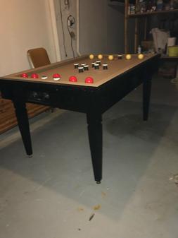 1970's Brunswick Slate Bumper Pool Table