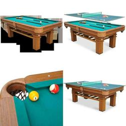 2 GAMES IN 1 87 Inch Sinclair Pool Table with Table Tennis T