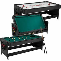 2-in-1 Game Table - Pool/Billiard and Air Hockey
