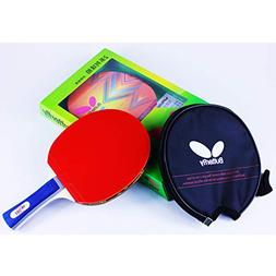Butterfly 201 Table Tennis Racket Set - 1 Ping Pong Paddle -