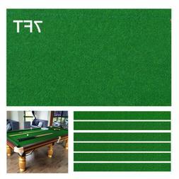 28 Oz 7FT Worsted Pool Table Cloth Table Fast Billiard Felt