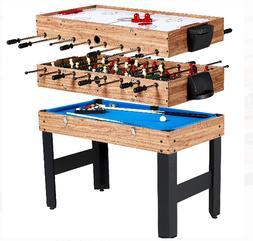 3 In 1 Combo Multi Game Table Foosball Soccer Convert Billia