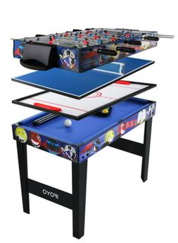 "31.5""  4 in 1 Multi Game Table for Kids Steady Combo Game Ai"