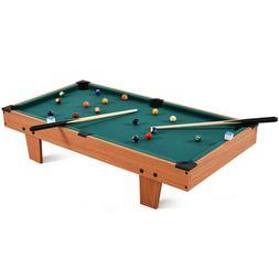 """36""""Mini Table Top Pool Table Game Billiard Board Play with"""