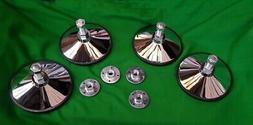 4 hd chrome metal pool football snooker