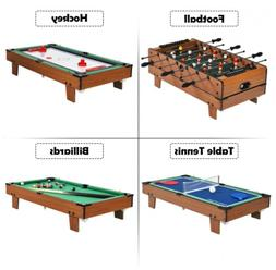 4 In 1 Multi Game Hockey Foosball Pool Billiard Ping Pong Fa