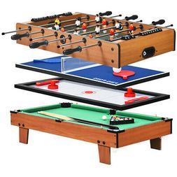 4 In 1 Multi Game Hockey Tennis Football Pool Table Billiard