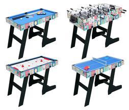 4 in 1 Multi Game Table Pool Table Foosball Tennis Hockey Ta
