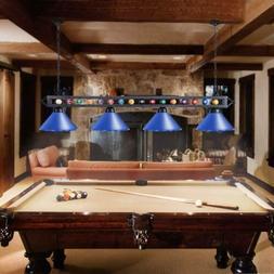 4 Light Metal Ball Design Pool Table Light Billiard Pendant