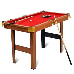 "48"" Mini Table Top Pool Table Game Billiard Set Cues Balls"