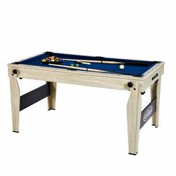 5 FT. Folding Billiard Pool Table With Cue Set And Accessory