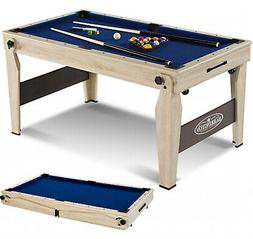 Barrington 60 Folding Pool Table with Cue Set and Accessory