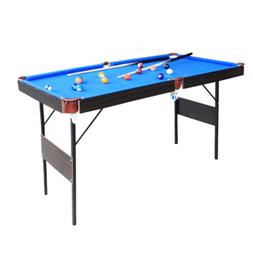 "55 "" Folding Billiard Table  Space Saving Pool Table Play wi"