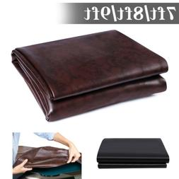 7/8/9FT Heavy Duty Fitted Leatherette Billiard Pool Table Co