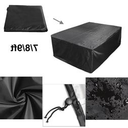 7/8/9ft Polyester Waterproof Fabric Outdoor Pool Snooker Bil