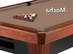 9 860 mocha billiard pool table cloth