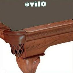 Proline 7' Olive Classic 303 Teflon Billiard / Pool Table Fe