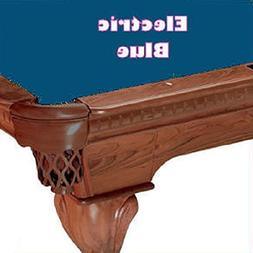 8' Simonis 760 Electric Blue Billiard Pool Table Cloth Felt