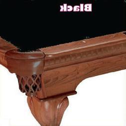 8' Simonis 760 Black Billiard Pool Table Cloth Felt