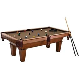 7ft Billiard Pool Table with Accessories 2 Chalk Triangle 2