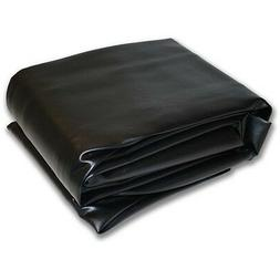 "New 8M Black Hood Fitted Pool Table Cover, 56""x100"" - Double"