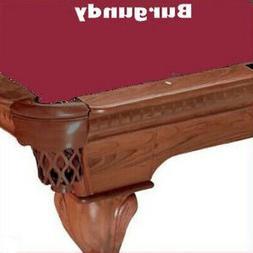 ProLine 8' Burgundy Classic 303 Teflon Billiard / Pool Table
