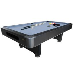8-Foot Slate Pool Billiard Table Mizerak Dakota with Ball Re