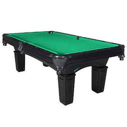 8-ft Slate Pool Table with Black Finish - Hathaway Cobra