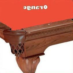Proline 8' Orange Classic 303 Teflon Billiard / Pool Table F