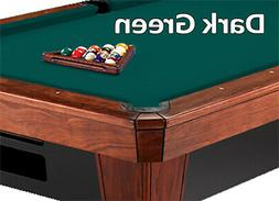 8' Oversized Simonis 860 Dark Green Billiard Pool Table Clot