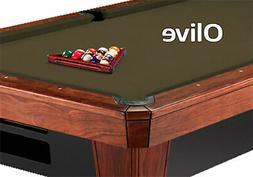 8' Oversized Simonis 860 Olive Billiard Pool Table Cloth Fel