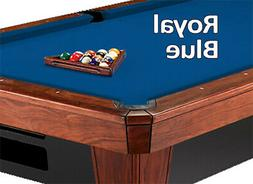 8' Oversized Simonis 860 Royal Blue Billiard Pool Table Clot