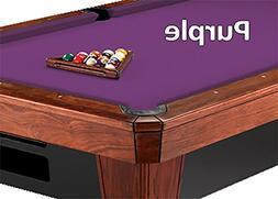 9' Simonis 860 Purple Pool Table Cloth Felt