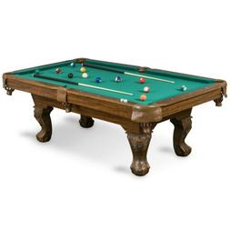 87 brighton billiard pool table set full