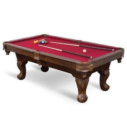 Billiard Pool Table Set With Wooden Billiard Cues Balls Chal