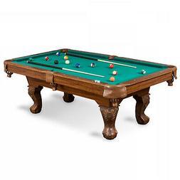87 Pool Table Billiard Billiards Set Light Cues Balls Chalk