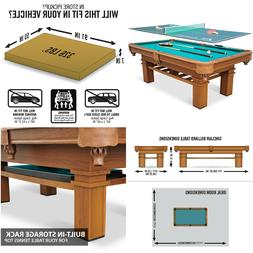 """EastPoint Sports 87"""" Sinclair Billiard Pool Table with Table"""