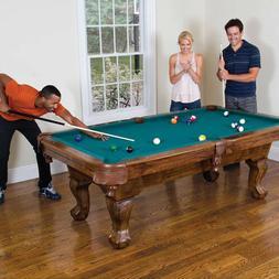 87in Pool Table 7 Foot Billiard Man Cave Essential Accessori