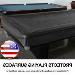 8FT Heavy Duty Fitted Leatherette Billiard Tabletops Pool Ta