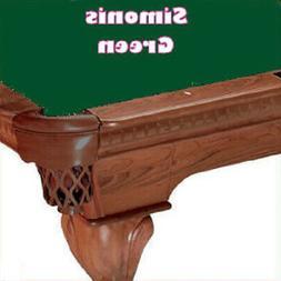 9' Simonis 760 Green Billiard Pool Table Cloth Felt