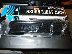 "Mizerak 9"" Black Hardwood Pool Table Brush #P1814"