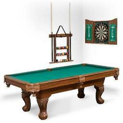 """EastPoint Sports 90"""" Westford Pool Table w/  Dartboard & Cab"""
