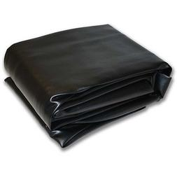 "9M Black Hood Fitted Pool Table Cover -  62""x112""  Double Se"