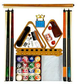 Billiard - Pool Table Accessory Kit W/ Swirl - Marble Style